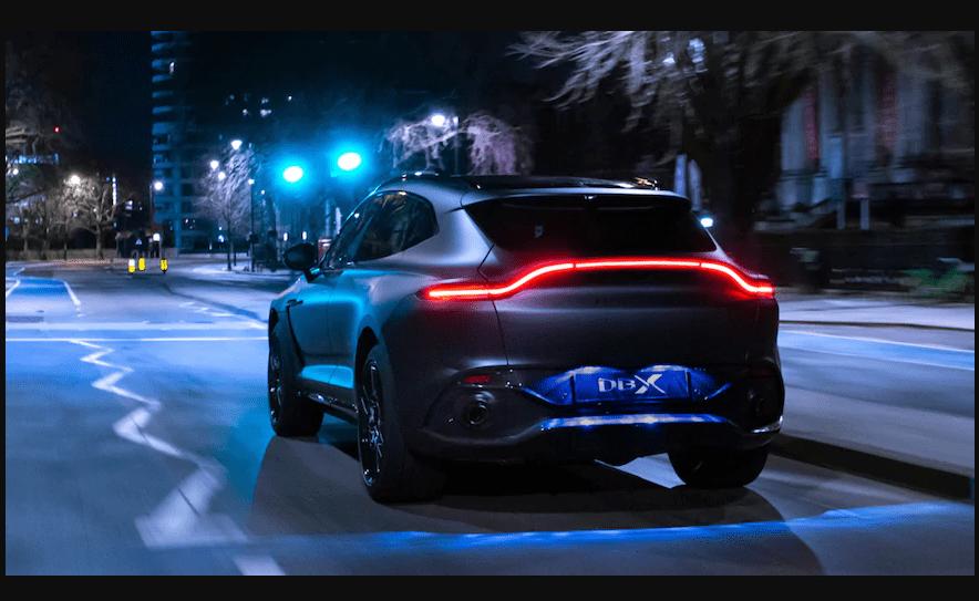 Aston-Martin DBX 'Q's Up для Женевы 2