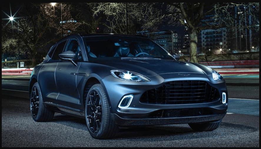 Aston-Martin DBX 'Q's Up для Женевы, Спортивные автомобили