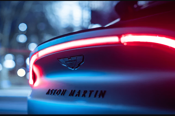 Aston-Martin DBX 'Q's Up для Женевы 3