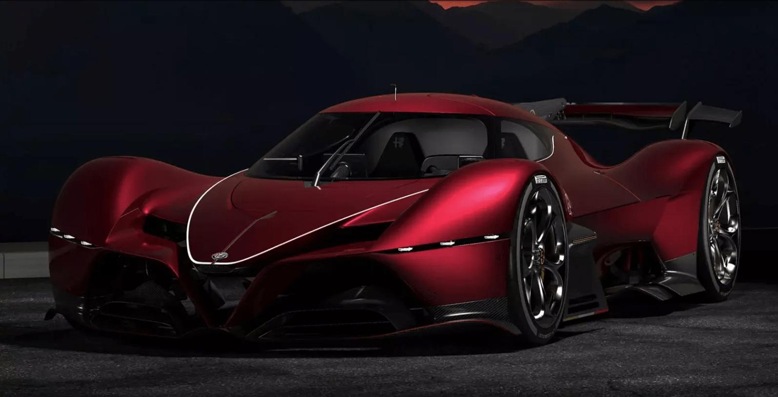 Это Alfa Romeo 8C-R Tazio — чистый материал для гиперкаров, Спортивные автомобили