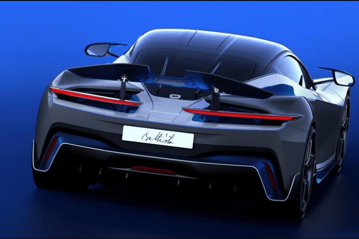 All-Electric Pininfarina Battista Anniversario